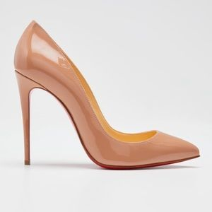 Christian Louboutin Patent Pointed Toe Pigalle